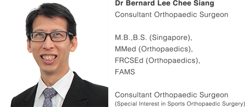 Treating Sports Injuries | SportsIn Orthopaedic Clinic | Dr Bernard Lee